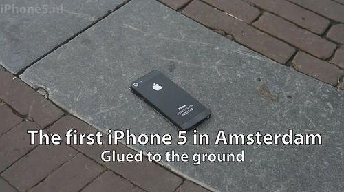 iPhone 5 Super Glued