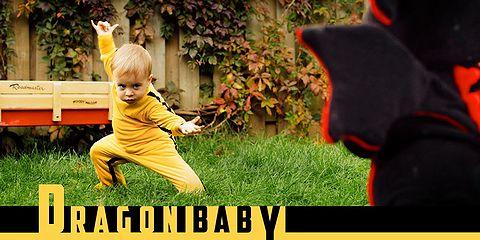 ブルース・リー」+「キル・ビル」+「赤ちゃん」=「Dragon Baby