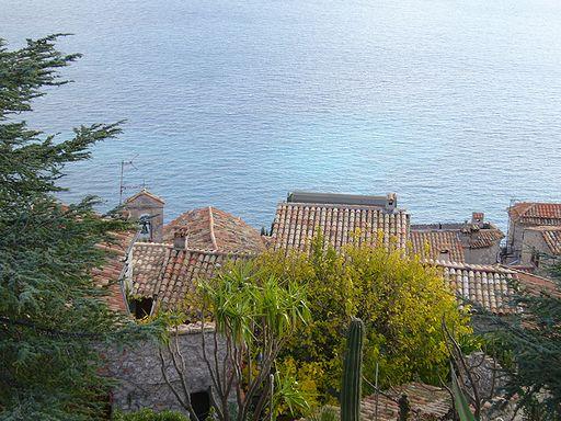 エズ村からの眺望