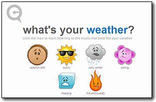 今日のあなたの天気は?